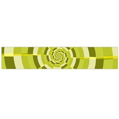 Crazy Dart Green Gold Spiral Flano Scarf (large) by designworld65