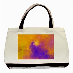Colorful Universe Basic Tote Bag by designworld65
