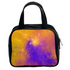 Colorful Universe Classic Handbags (2 Sides) by designworld65