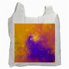 Colorful Universe Recycle Bag (two Side)  by designworld65