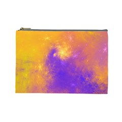 Colorful Universe Cosmetic Bag (large)  by designworld65