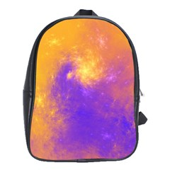 Colorful Universe School Bags(large)  by designworld65