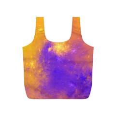 Colorful Universe Full Print Recycle Bags (s)  by designworld65