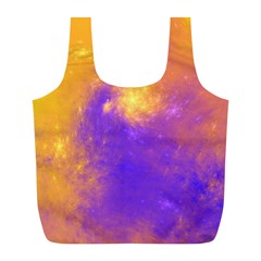 Colorful Universe Full Print Recycle Bags (l)  by designworld65