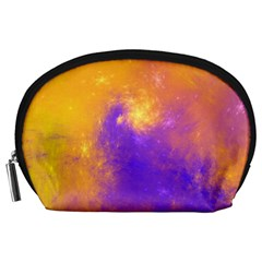 Colorful Universe Accessory Pouches (large)  by designworld65