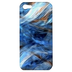 Blue Colorful Abstract Design  Apple Iphone 5 Hardshell Case by designworld65