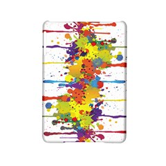 Crazy Multicolored Double Running Splashes Ipad Mini 2 Hardshell Cases by EDDArt