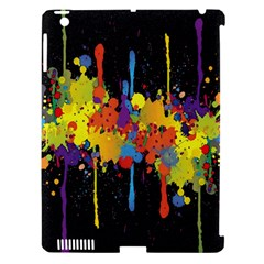 Crazy Multicolored Double Running Splashes Horizon Apple Ipad 3/4 Hardshell Case (compatible With Smart Cover) by EDDArt