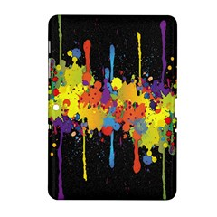 Crazy Multicolored Double Running Splashes Horizon Samsung Galaxy Tab 2 (10 1 ) P5100 Hardshell Case