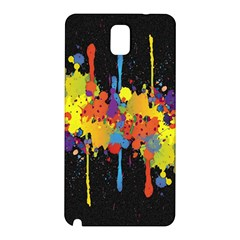 Crazy Multicolored Double Running Splashes Horizon Samsung Galaxy Note 3 N9005 Hardshell Back Case by EDDArt