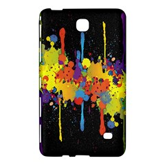 Crazy Multicolored Double Running Splashes Horizon Samsung Galaxy Tab 4 (8 ) Hardshell Case  by EDDArt