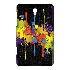 Crazy Multicolored Double Running Splashes Horizon Samsung Galaxy Tab S (8 4 ) Hardshell Case  by EDDArt