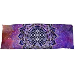 Flower Of Life Indian Ornaments Mandala Universe Body Pillow Case Dakimakura (two Sides) by EDDArt