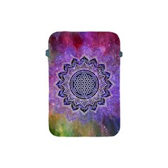 Flower Of Life Indian Ornaments Mandala Universe Apple Ipad Mini Protective Soft Cases by EDDArt