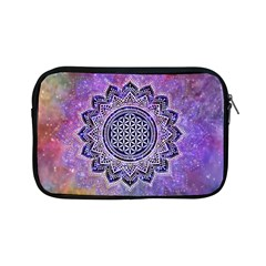 Flower Of Life Indian Ornaments Mandala Universe Apple Ipad Mini Zipper Cases by EDDArt