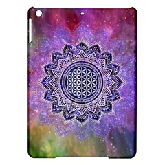 Flower Of Life Indian Ornaments Mandala Universe Ipad Air Hardshell Cases