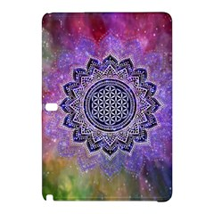 Flower Of Life Indian Ornaments Mandala Universe Samsung Galaxy Tab Pro 12 2 Hardshell Case by EDDArt