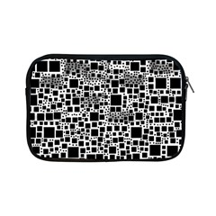 Block On Block, B&w Apple Ipad Mini Zipper Cases by MoreColorsinLife