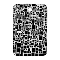 Block On Block, B&w Samsung Galaxy Note 8 0 N5100 Hardshell Case  by MoreColorsinLife