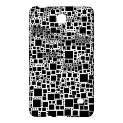 Block On Block, B&w Samsung Galaxy Tab 4 (7 ) Hardshell Case  by MoreColorsinLife