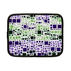 Block On Block, Purple Netbook Case (small)  by MoreColorsinLife