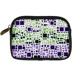 Block On Block, Purple Digital Camera Cases by MoreColorsinLife