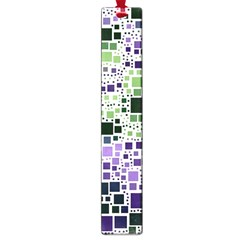 Block On Block, Purple Large Book Marks by MoreColorsinLife