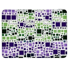Block On Block, Purple Samsung Galaxy Tab 7  P1000 Flip Case by MoreColorsinLife