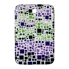 Block On Block, Purple Samsung Galaxy Note 8 0 N5100 Hardshell Case  by MoreColorsinLife