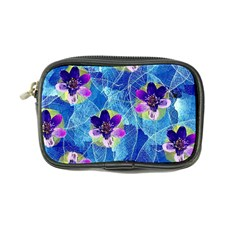 Purple Flowers Coin Purse