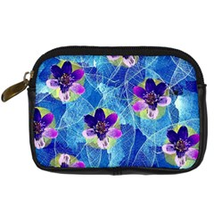Purple Flowers Digital Camera Cases