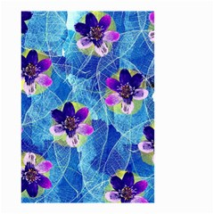 Purple Flowers Small Garden Flag (Two Sides)