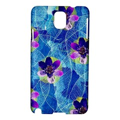 Purple Flowers Samsung Galaxy Note 3 N9005 Hardshell Case