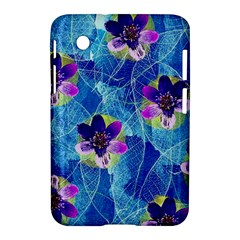 Purple Flowers Samsung Galaxy Tab 2 (7 ) P3100 Hardshell Case