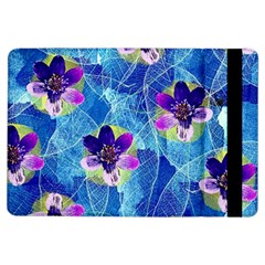 Purple Flowers Ipad Air Flip by DanaeStudio