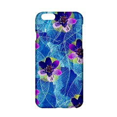 Purple Flowers Apple iPhone 6/6S Hardshell Case