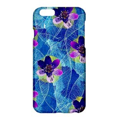Purple Flowers Apple iPhone 6 Plus/6S Plus Hardshell Case
