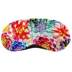 Colorful Succulents Sleeping Masks