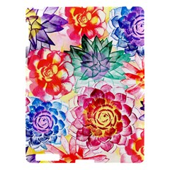 Colorful Succulents Apple iPad 3/4 Hardshell Case
