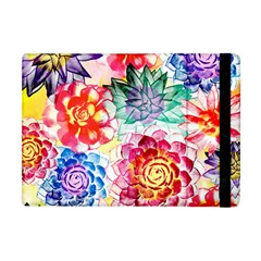 Colorful Succulents Apple iPad Mini Flip Case