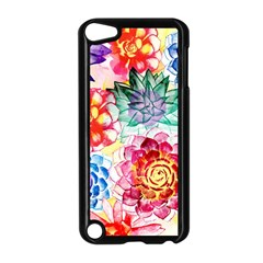 Colorful Succulents Apple iPod Touch 5 Case (Black)