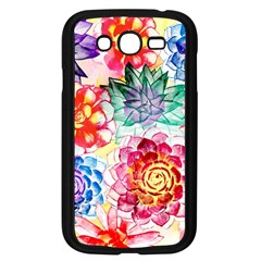 Colorful Succulents Samsung Galaxy Grand DUOS I9082 Case (Black)