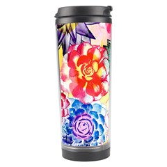 Colorful Succulents Travel Tumbler