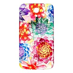Colorful Succulents Samsung Galaxy Mega I9200 Hardshell Back Case