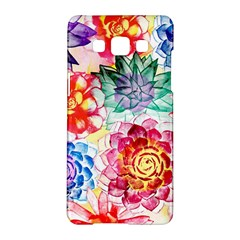 Colorful Succulents Samsung Galaxy A5 Hardshell Case