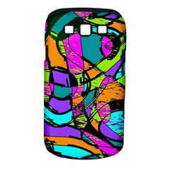 Abstract Sketch Art Squiggly Loops Multicolored Samsung Galaxy S Iii Classic Hardshell Case (pc+silicone)