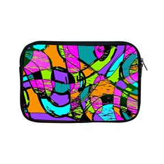 Abstract Sketch Art Squiggly Loops Multicolored Apple Ipad Mini Zipper Cases
