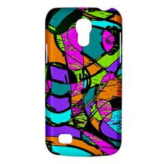 Abstract Sketch Art Squiggly Loops Multicolored Galaxy S4 Mini by EDDArt