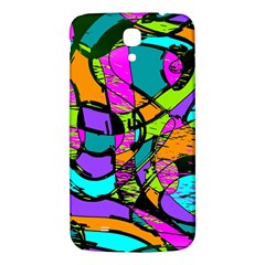Abstract Sketch Art Squiggly Loops Multicolored Samsung Galaxy Mega I9200 Hardshell Back Case by EDDArt
