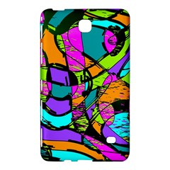 Abstract Sketch Art Squiggly Loops Multicolored Samsung Galaxy Tab 4 (8 ) Hardshell Case  by EDDArt